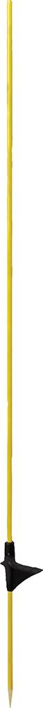 Glasfiberpfahl 1,15 m, mit Trittstufe d=10mm (10 Stück / Pack)