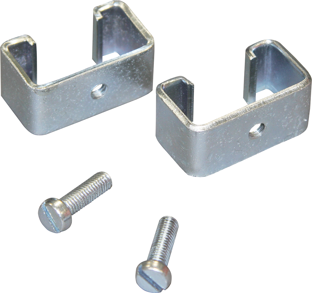 Montageset T-Pfosten, für Isolatoren, mit metrischen Gewinde