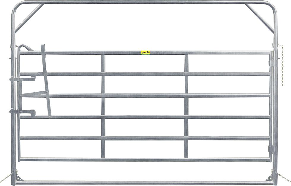 Schwingtor-6 Breite 3,05 m, Höhe 2,20 m + 2,70 m