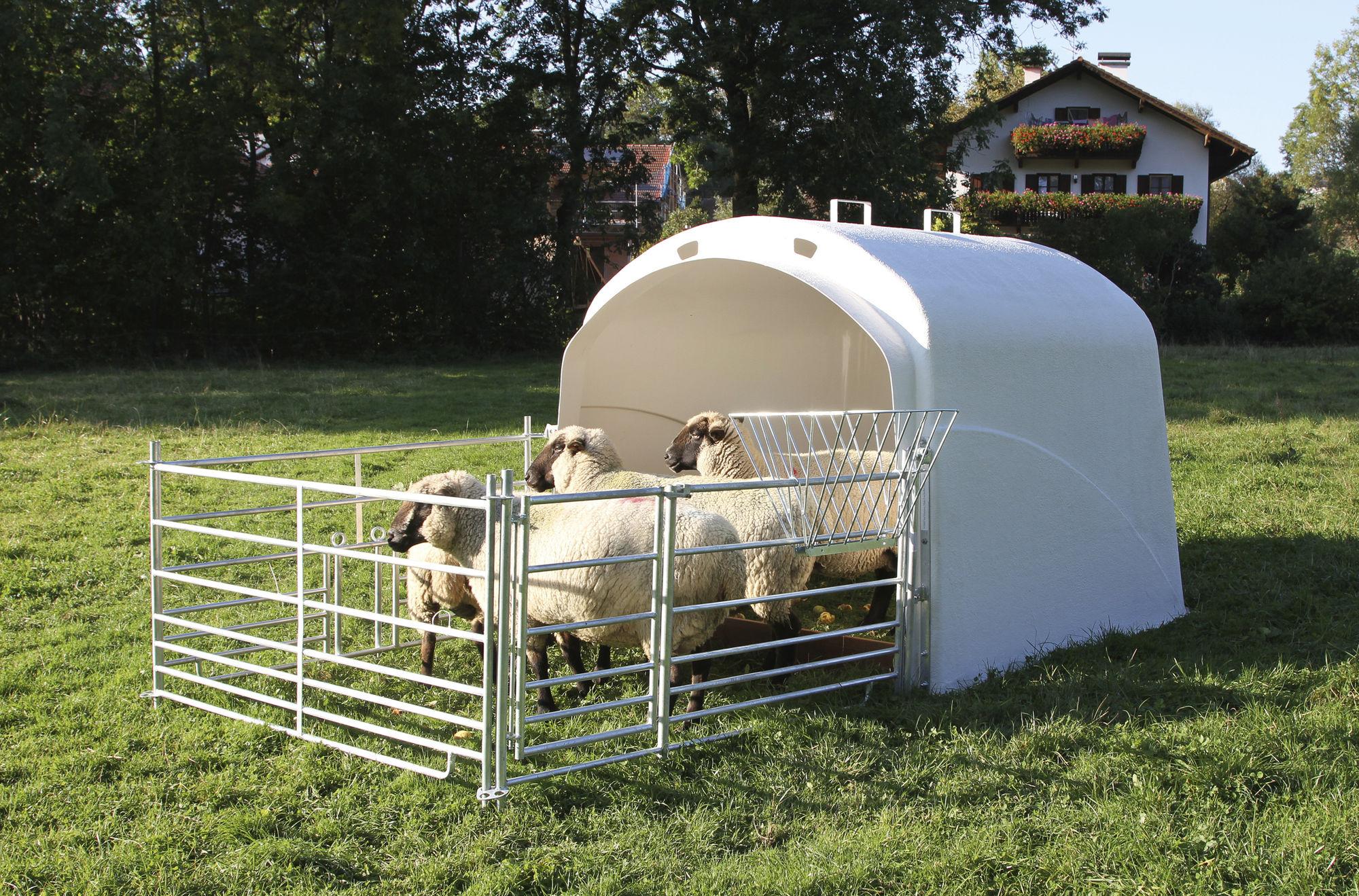 Großraumhütte mit Anschlussset für Steckhorden, Mod. 2020