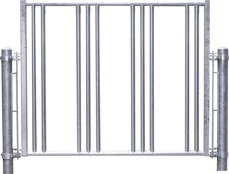 Sicherheits-Pferdefressgitter l = 191 cm 3 Fressplätze für Profi-Raufe