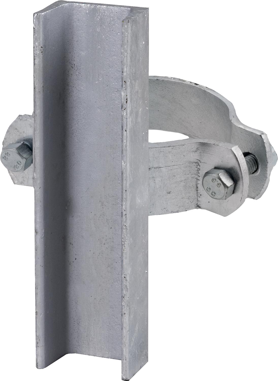 Schelle d=102 mm, mit U-Profil, vz