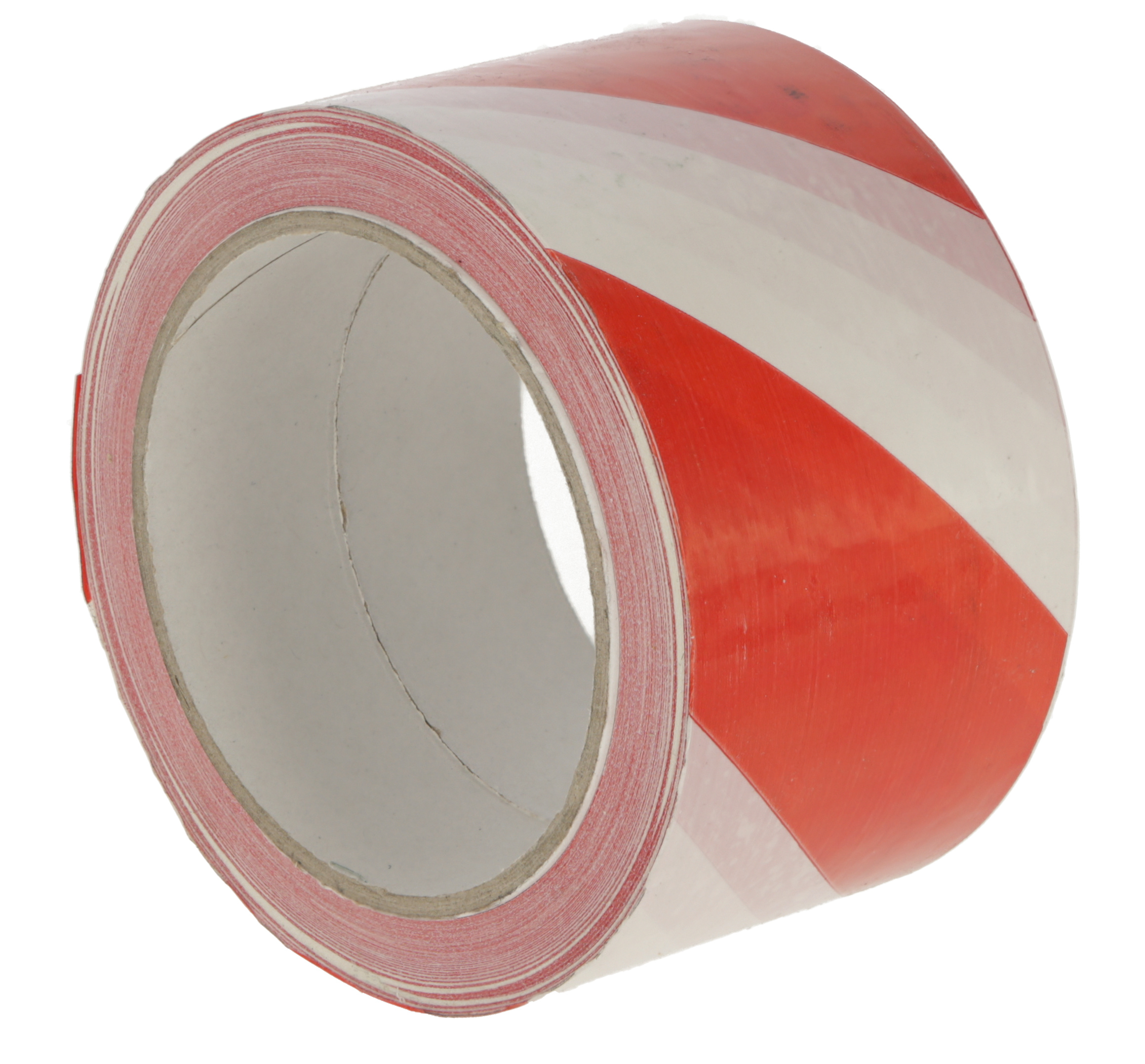 Warnband selbstklebend rot-weiß, 66mx60mm