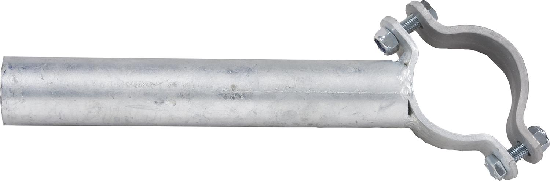 Einschub Schelle 102 einfach für Pfosten d= 102 mm