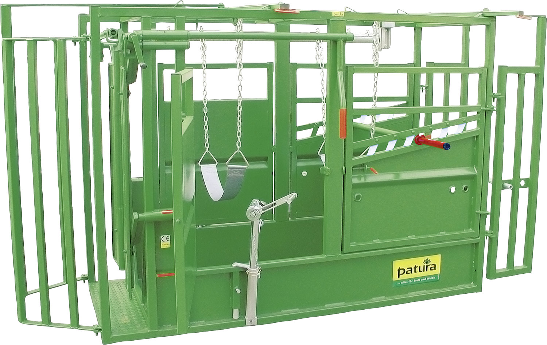 Behandlungsstand A5000 KVW, Klauenpflege feuerverzinkt