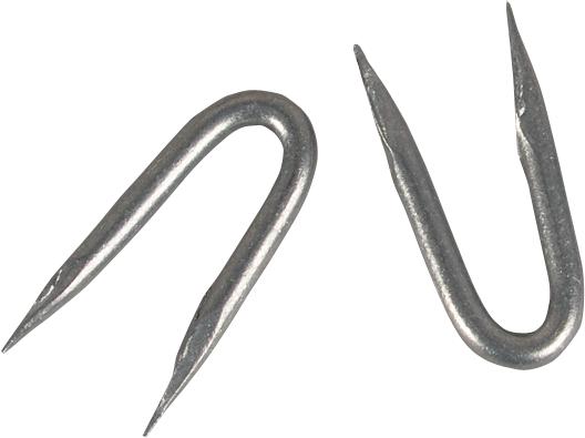Schlaufen (Krampen) verzinkt, 3,8x38 mm, 1 kg=ca. 155 Stück