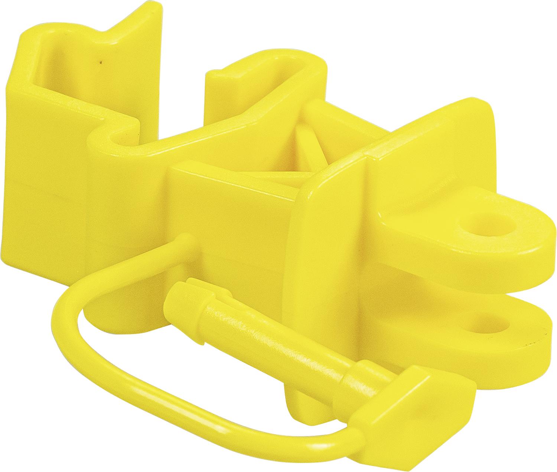 Standard-Isolator mit Stift, gelb, für T-Pfosten