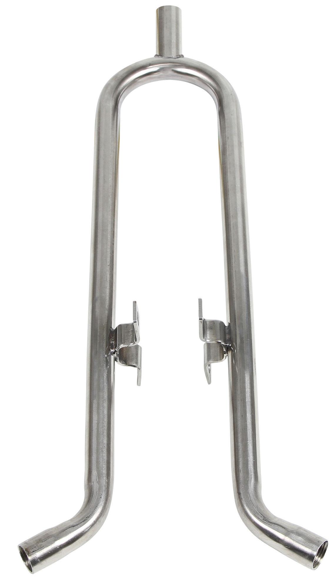 Tränkenippelhalter f. Buchten- wand, AG 1/2 - 2x IG 1/2