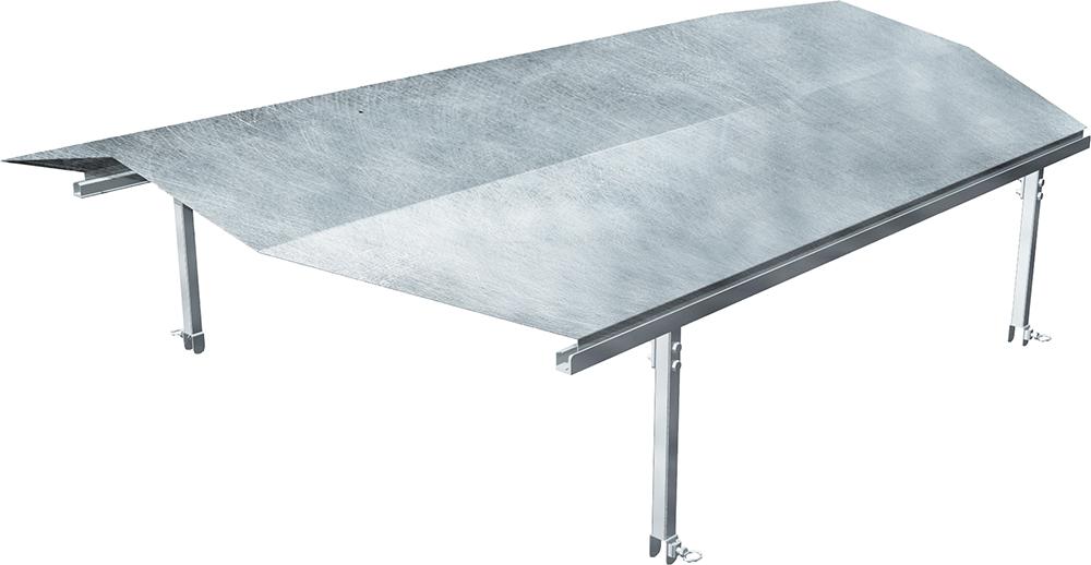 Dach für Umzäunung Kälberhütte, Typ Standard und Comfort