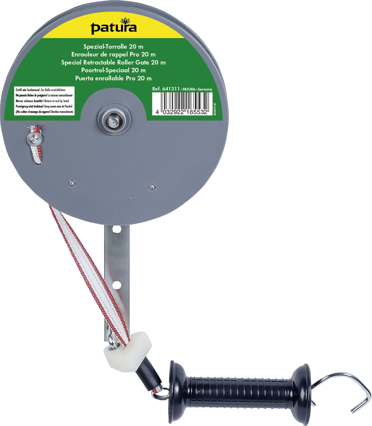 Spezial-Torrolle mit Breitband 20 mm