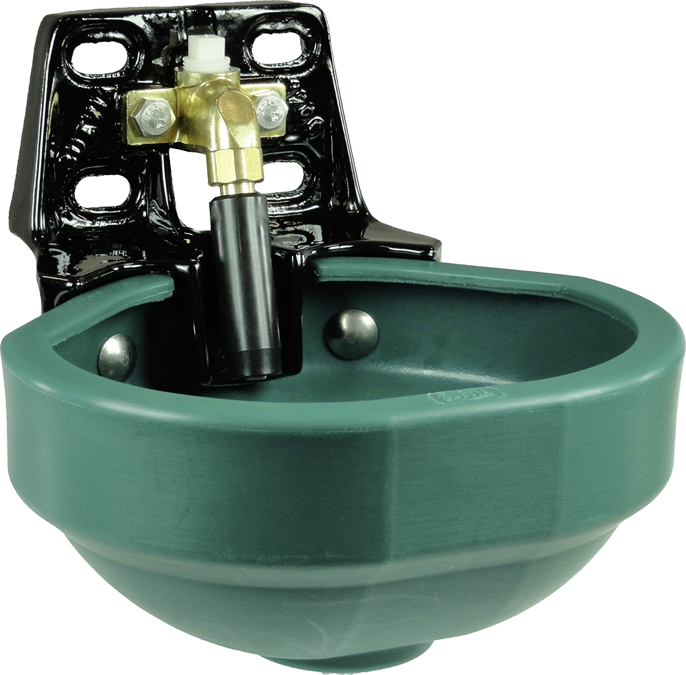 "Rohrventil-Becken Mod. 1200P mit 3/4"" Messingventil"