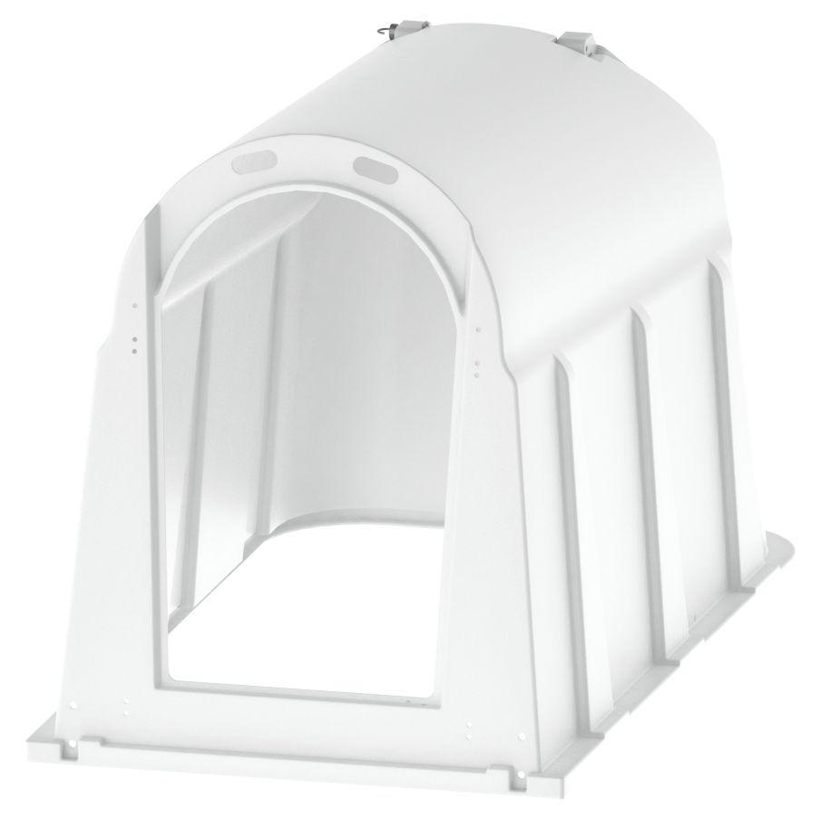 Calfhouse PE mit Zaun, UV+ mit zusätzlichem UV-Schutz
