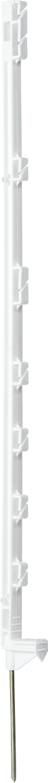 Kunststoffpfahl Compact 1,05 m mit 7 Haltern (10 Stück/Pack)