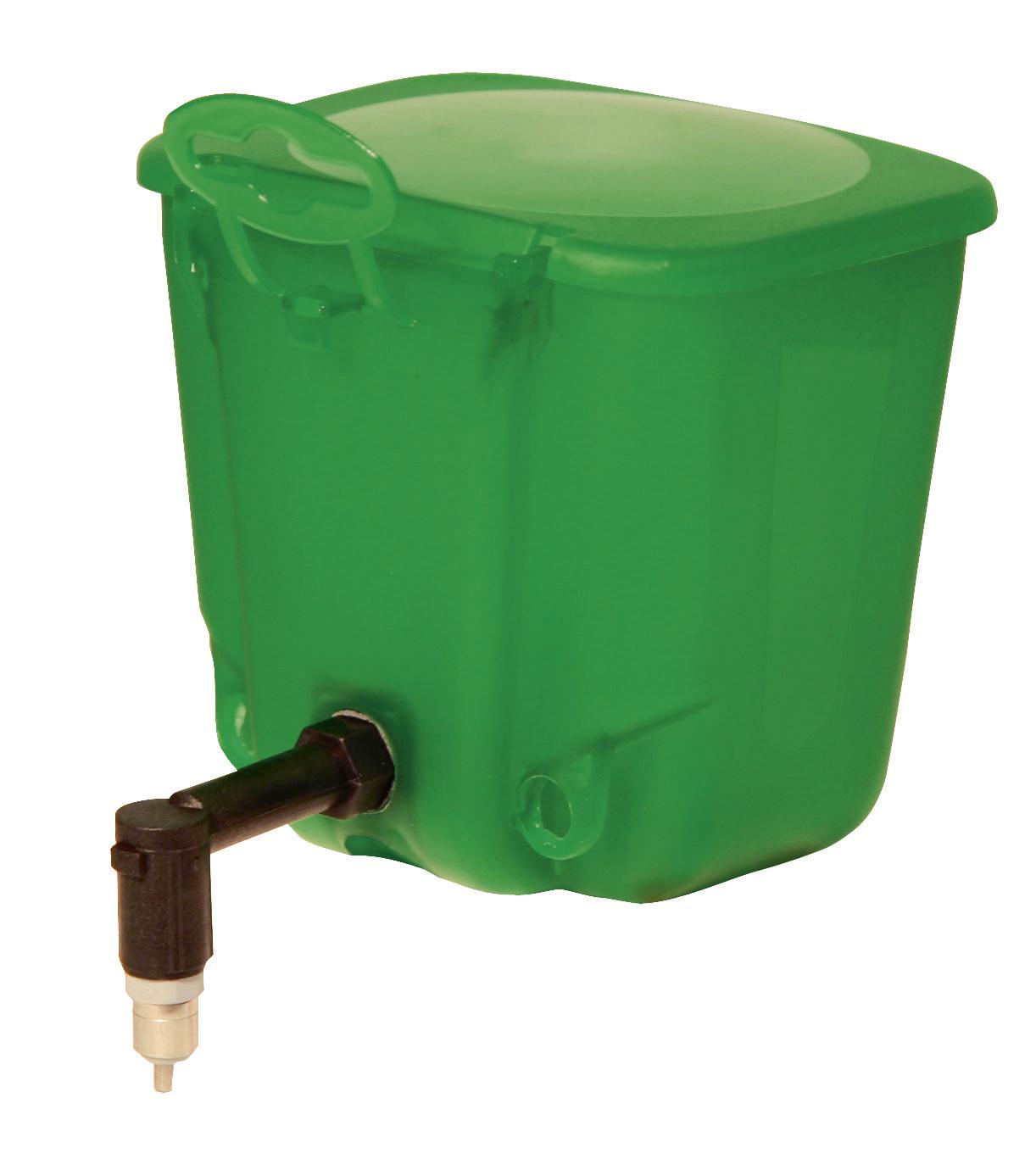Kleintiertränke 500 ml Kunststoff, grün