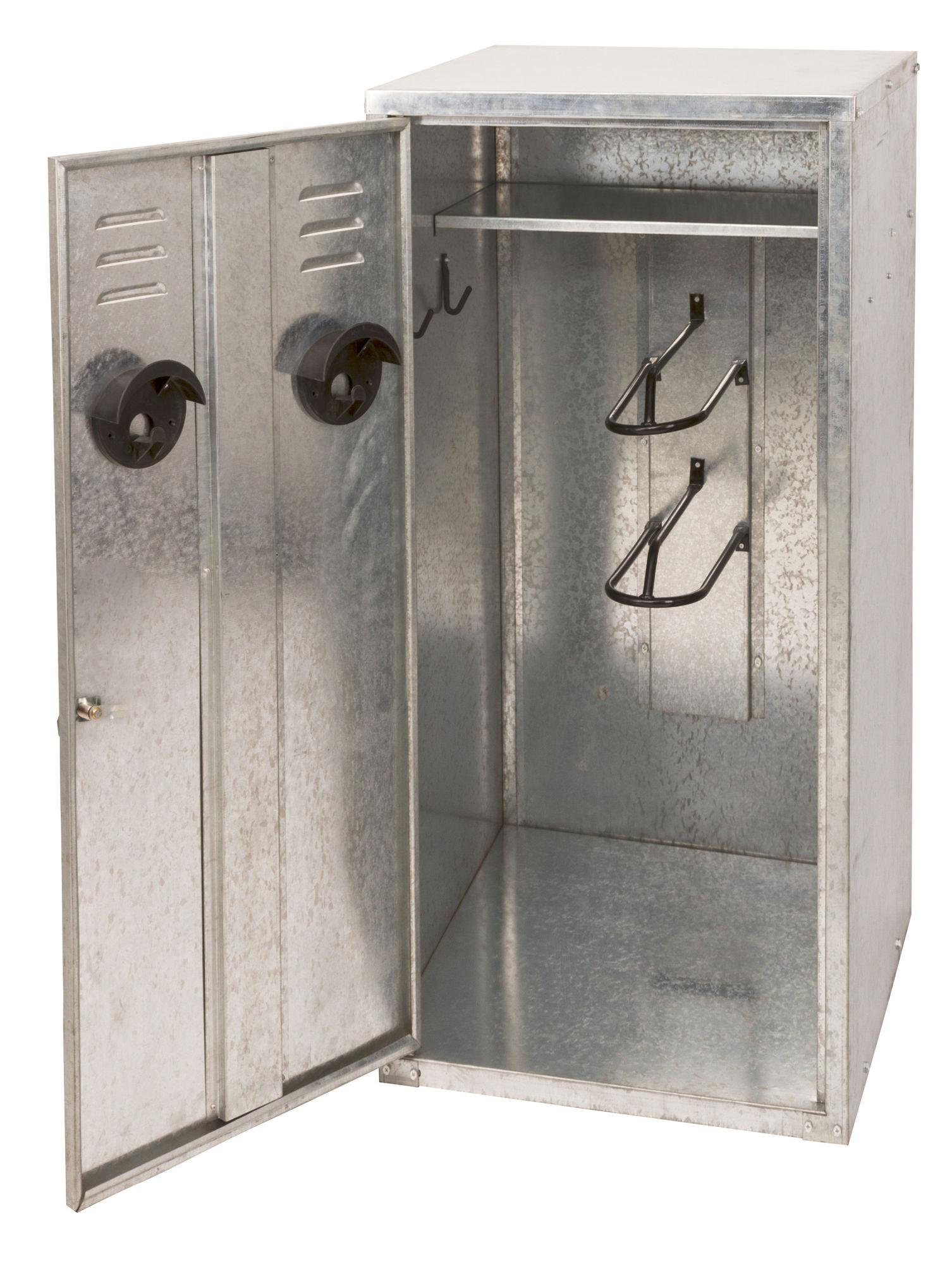 Sattelschrank 60x60x150cm für 2 Sättel