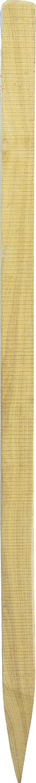Robinienpfahl, vierkant, gesägt, gefast, 4-fach gespitzt, sägerau