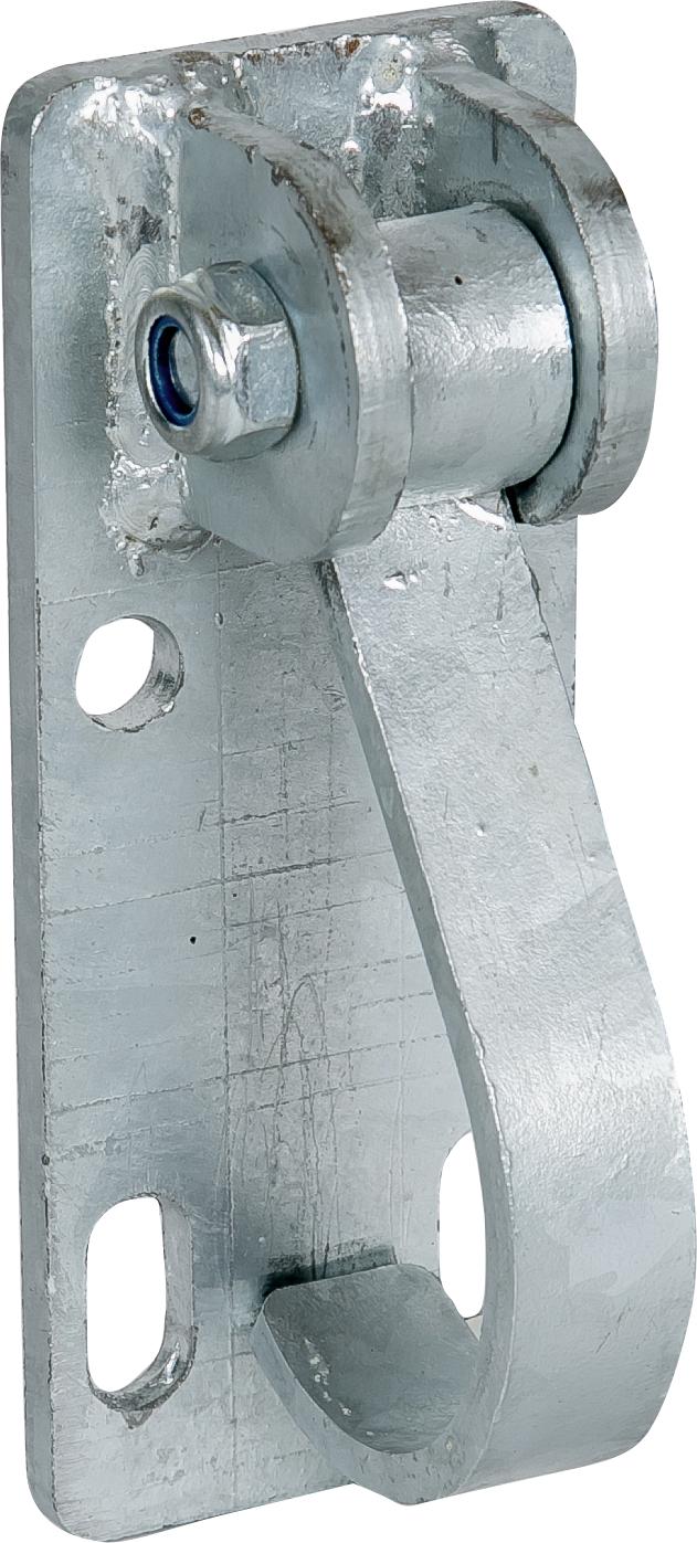 Haltebügel für Tore an Rohr 60 mm