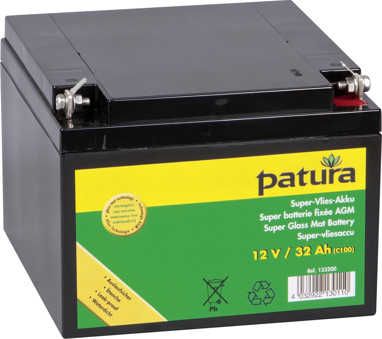 Super-Vlies-Akku wartungsfreie Vliesbatterie C100