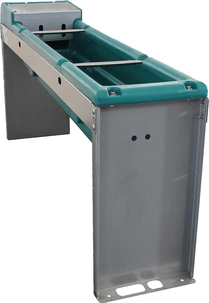 Trogtränke Mod. 5900 für Bodenbefestigung, Kunststofftränkewanne,