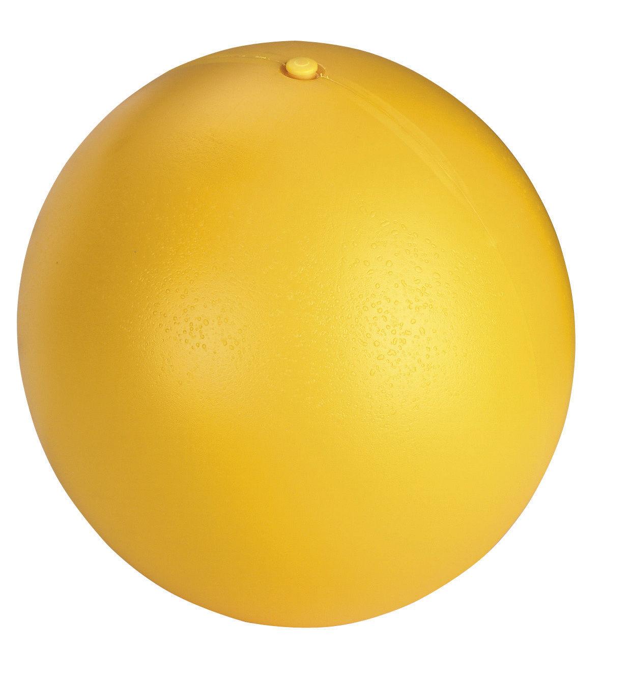 Hundespielball Ø 30 cm, gelb, aus Kunststoff
