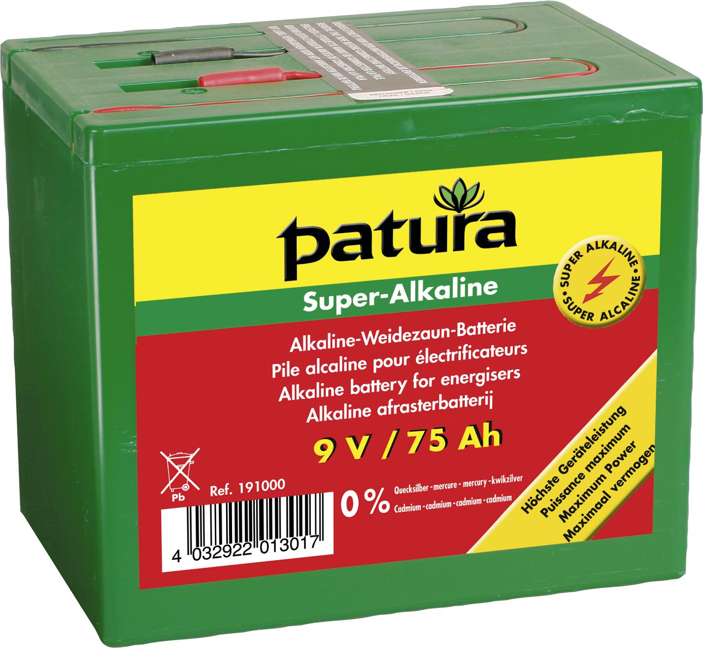Super-Alkaline Weidezaun-Batterie