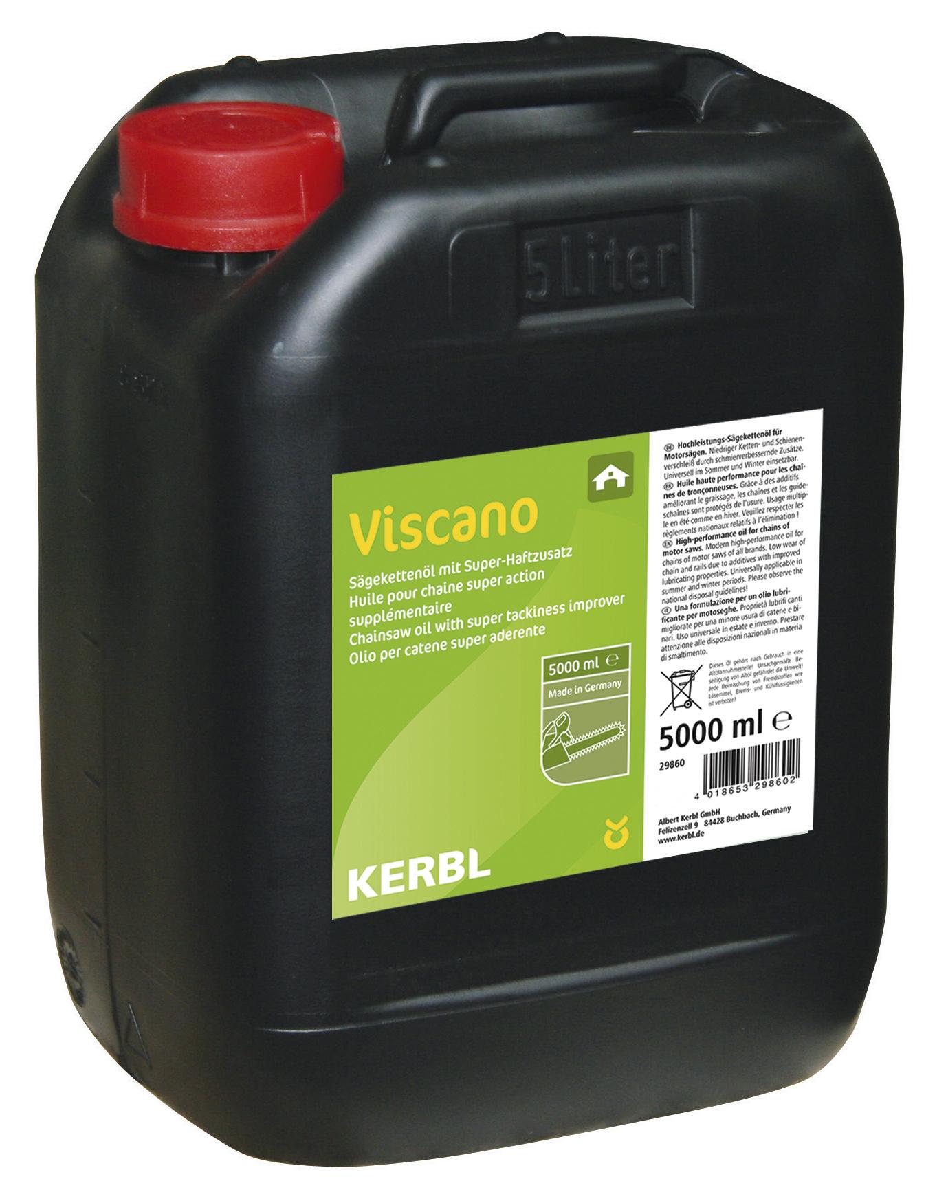 Viscano Sägekettenöl H 5 Ltr. mineralisch