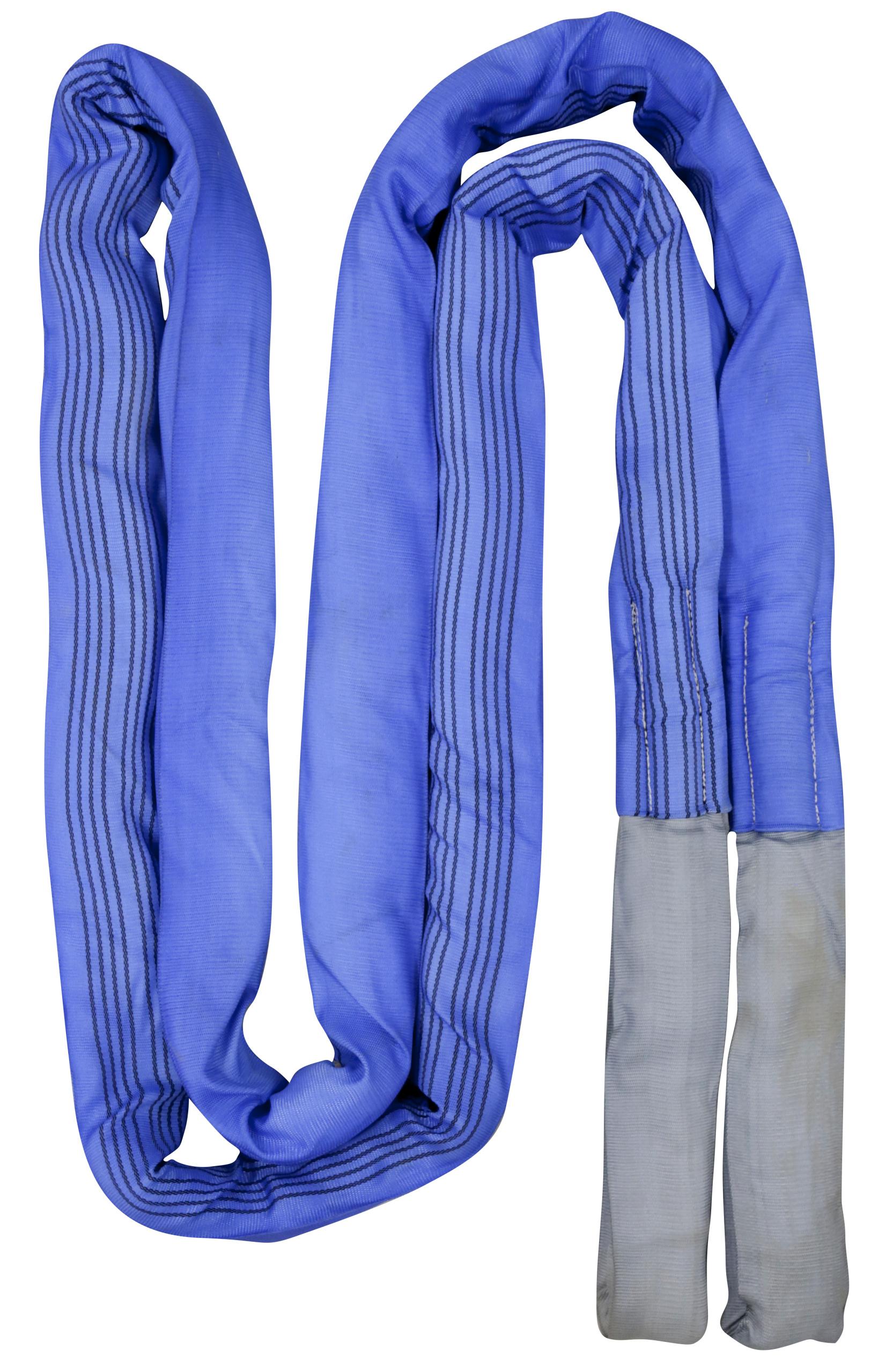 Abschleppschlinge 6m, 56t Reißfestigkeit, blau