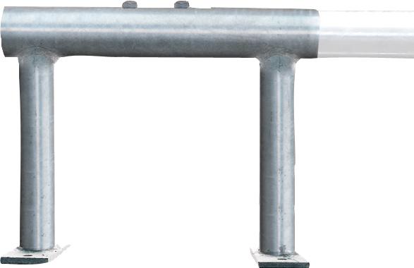 Montagebock für Hochbox 400x320 mm mit 2 Klemmschrauben