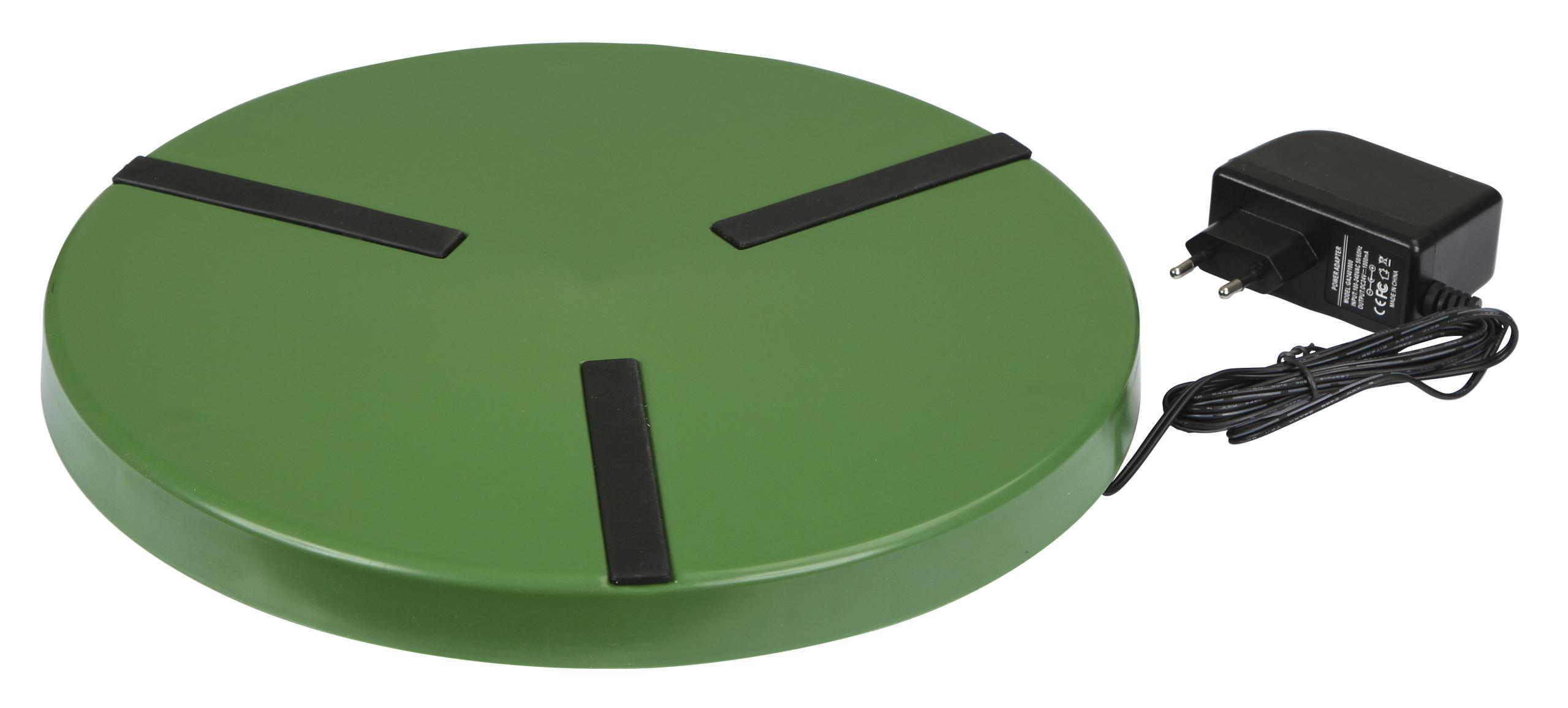 Heizplatte für Geflügeltränken Ø300mm, 24V, 22W, mit Netzteil