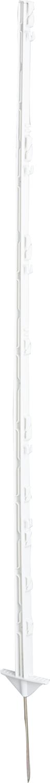 Kunststoffpfahl weiß (10 Stück / Pack)