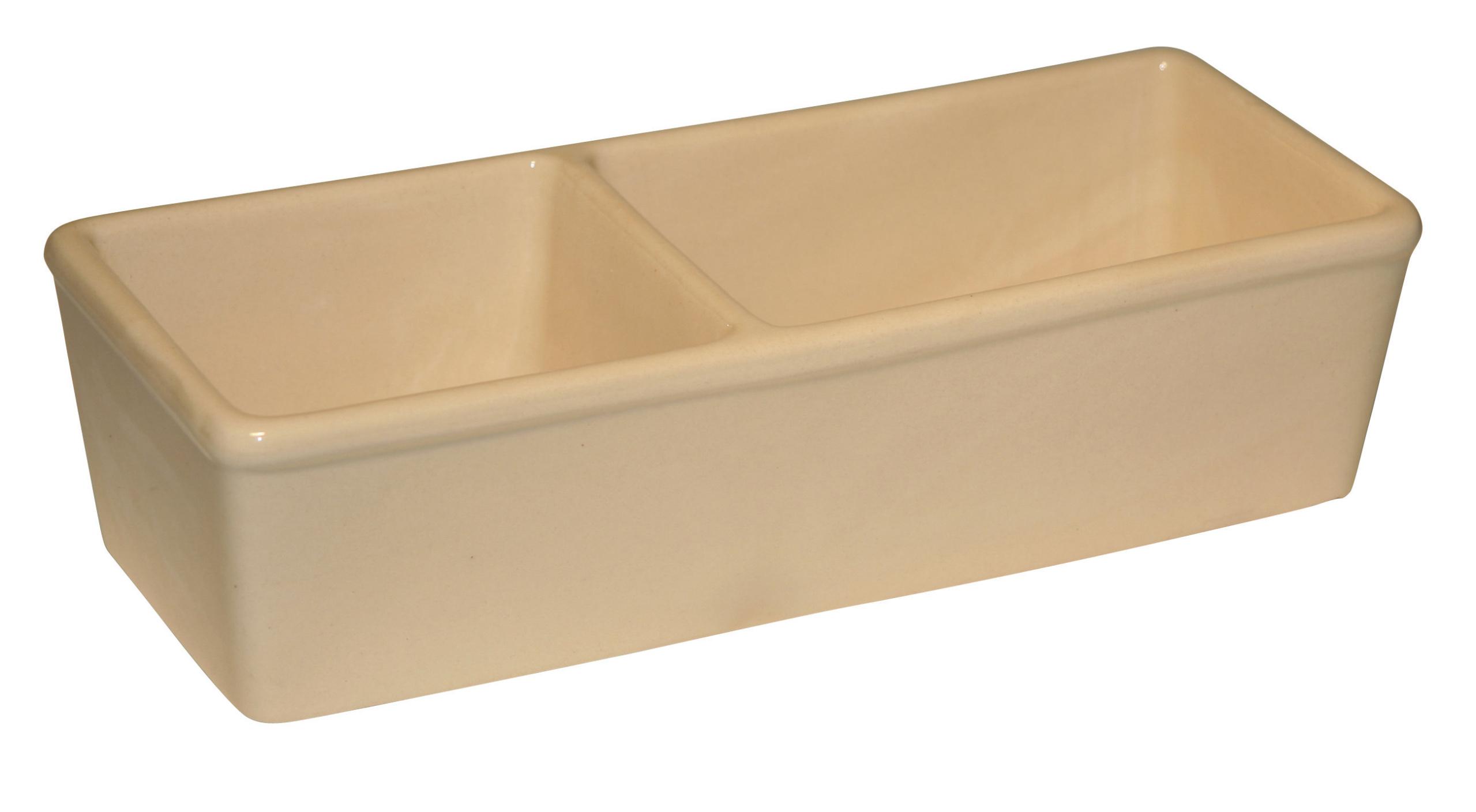 Keramiknapf für Nager, doppelt 350ml + 450ml
