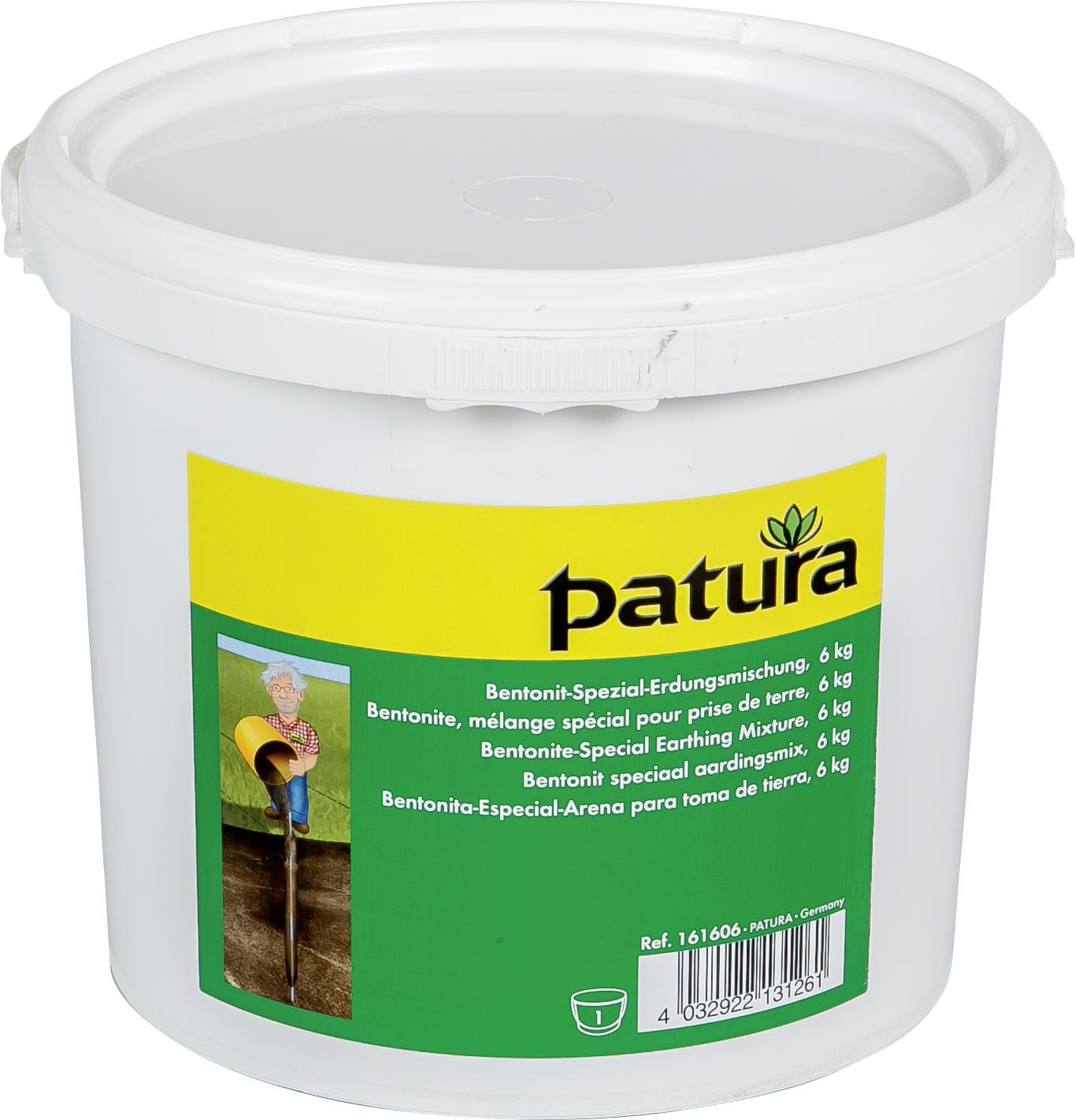 Bentonit Spezial-Erdungsmischung (Eimer mit 6 kg)