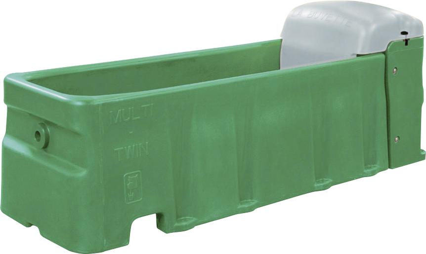 Tränkewanne Multi Twin S, Inhalt 200 ltr mit zwei Hochdruckventilen