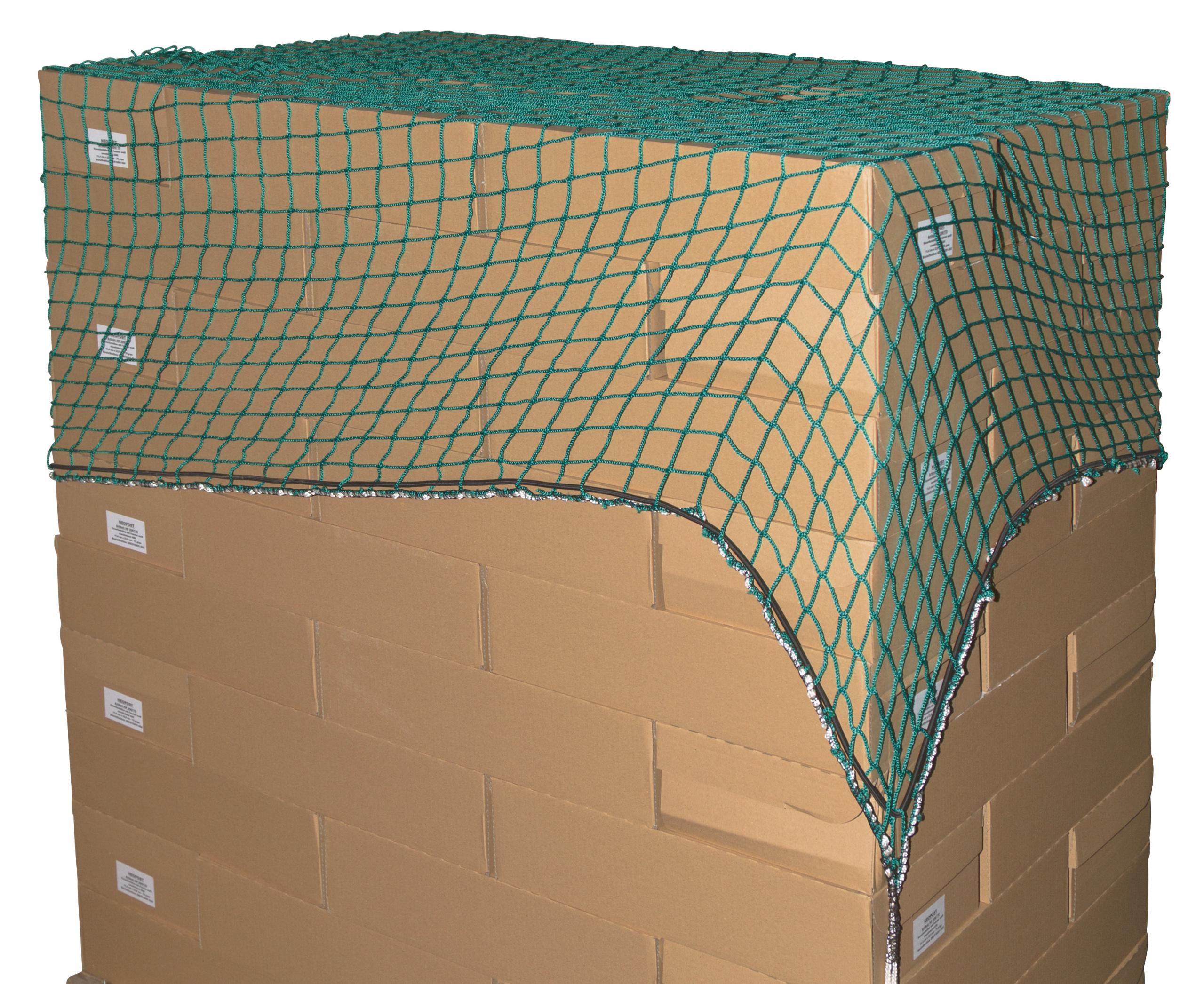 Abdecknetz 2 x 3,5m 30mm Maschenw./1,8mm Material