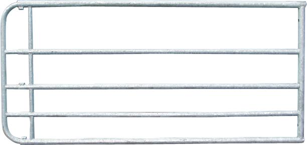 Verstellbares Weidezauntor, 0,90 m hoch, vz, inkl. Montageteile