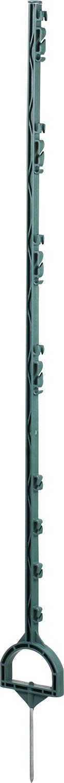 Steigbügelpfahl, Kunststoff, grün, mit Fußtritt, 1,55 m lang (10 Stück / Pack)