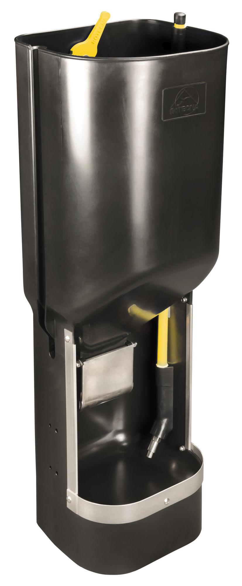 Futterautomat f. Mastschweine für Mehl + Trockenfutter (60l)