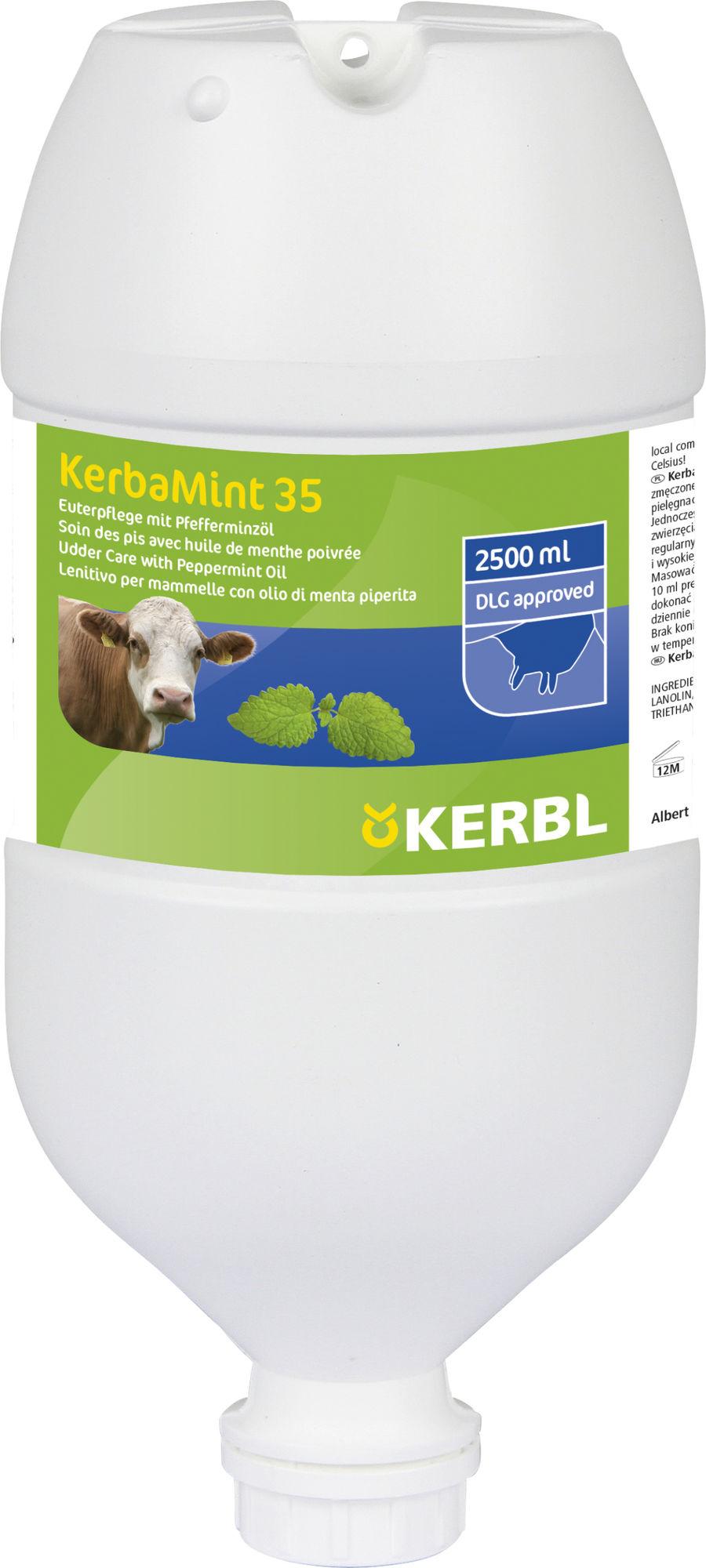Euterpflegemittel KerbaMINT 2500 ml Spenderflasche