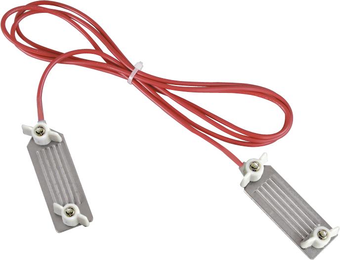 Zaunverbindungskabel B-Band mit Edelstahl-Klemmplatten (1 Stück / Pack)