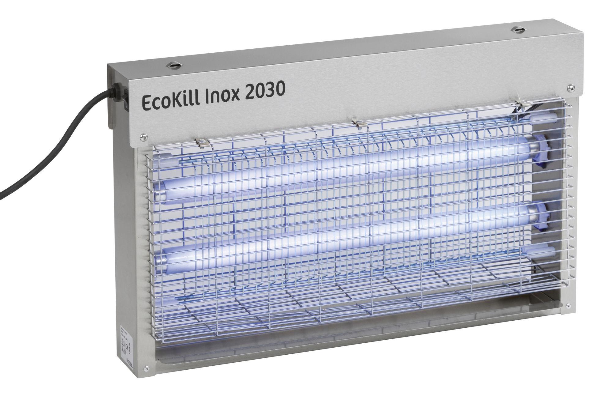 Elektr. Fliegenvernichter EcoKill Inox 2030