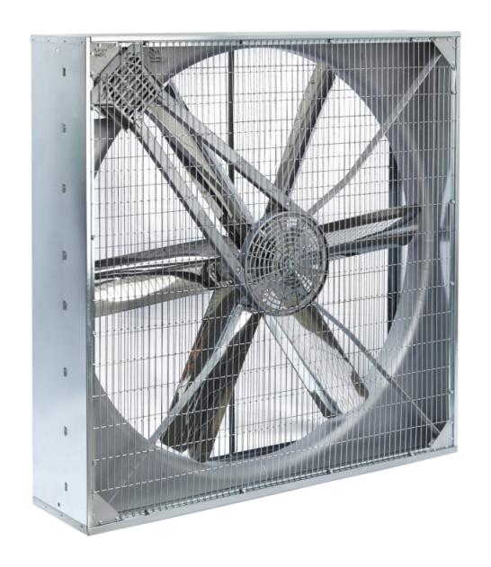 Umluftventilator für Stalllüftung RR140-380 V, 0.75 kW, Großraumlüfter, Stalllüfter