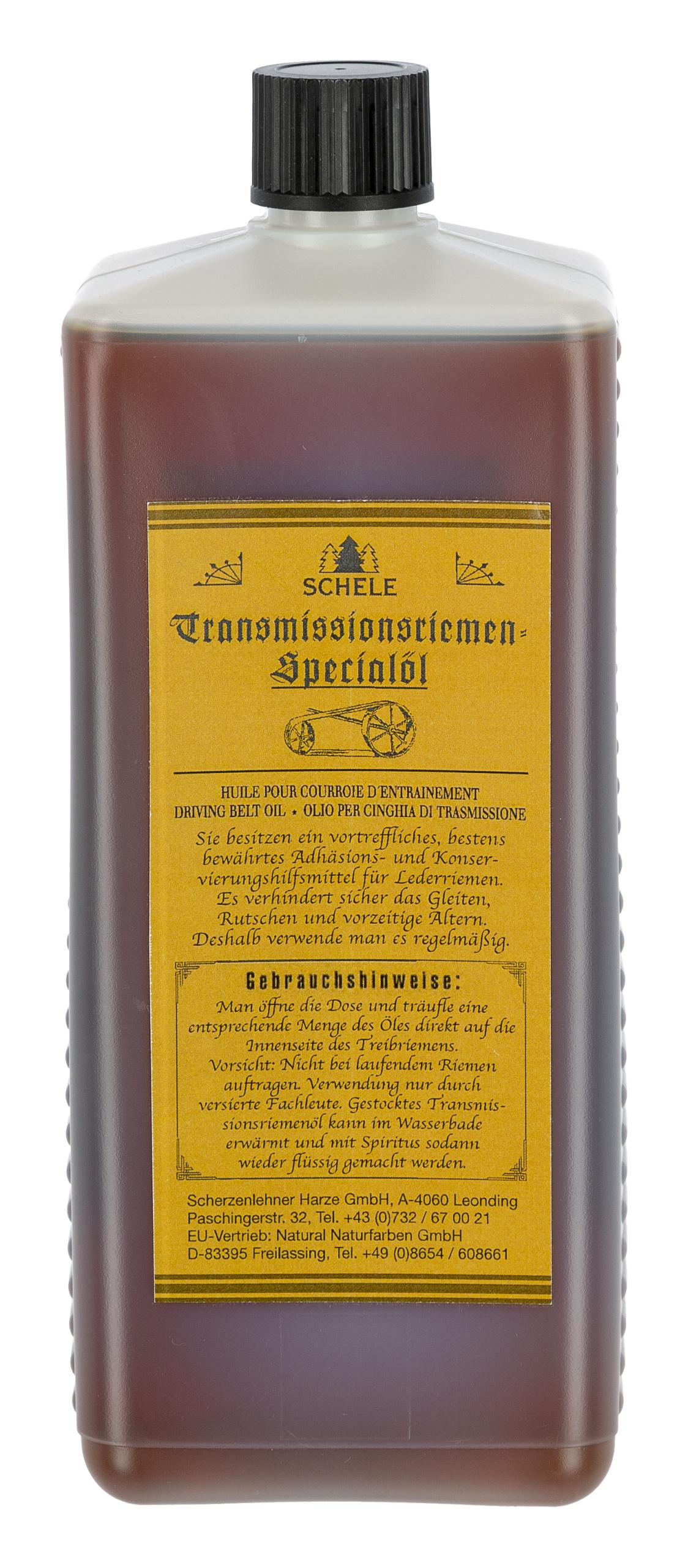 Treibriemenöl, flüssig, 950ml