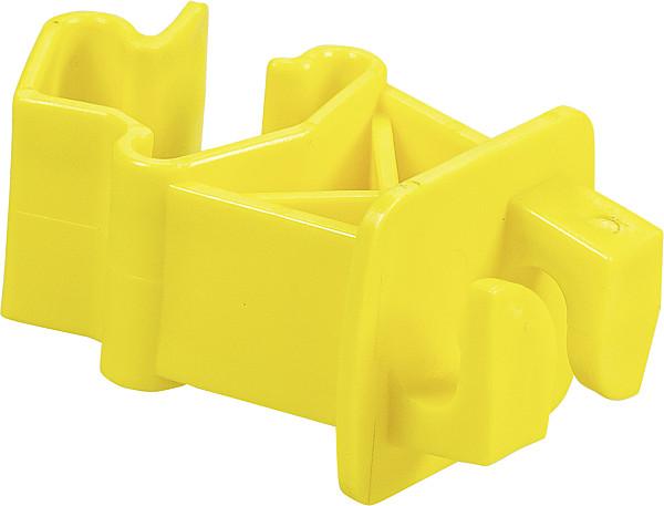 Standard-Isolator für T-Pfosten, gelb