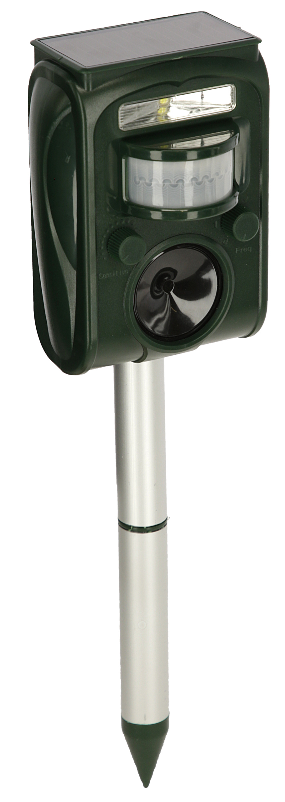 Ultraschall-Tiervertreiber SonicFlash, integr. Solarpanel