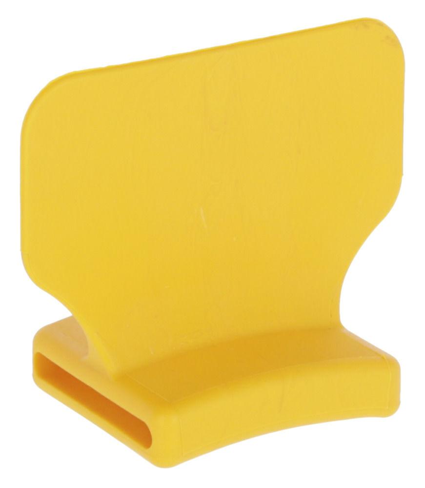 Nummernblock stehend, gelb blanko, 25 St. im Beutel