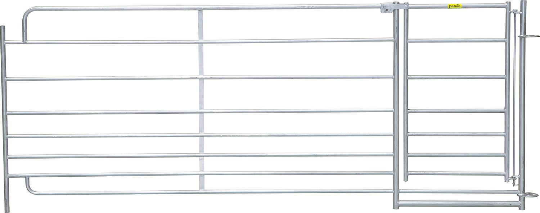 Steckfix-Horde XL mit Tor 8 Rohre, Höhe 1,10 m