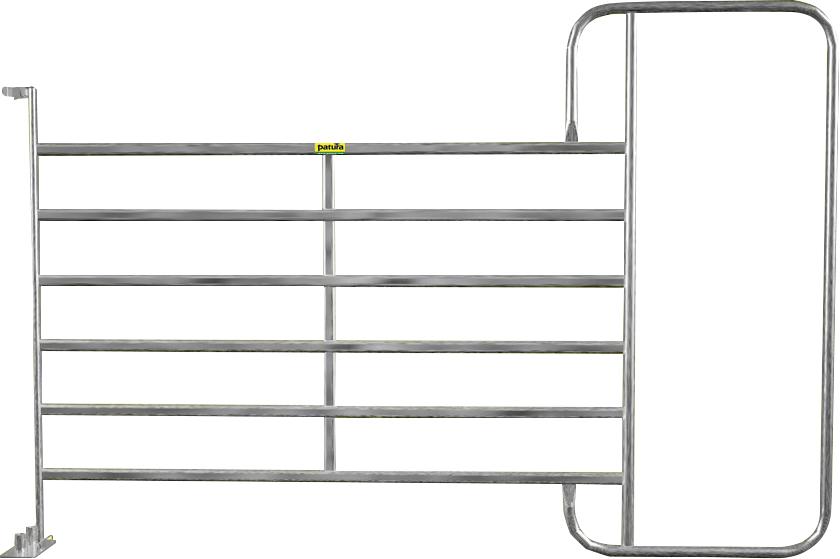Panel-6 mit Rahmen XL 3,05 m, H= 2,10 m, vz