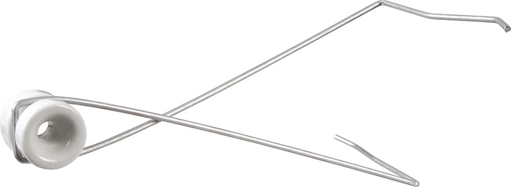 Abstandhalter zum Einhängen mit Porzellanisolator (10 Stück / Pack)