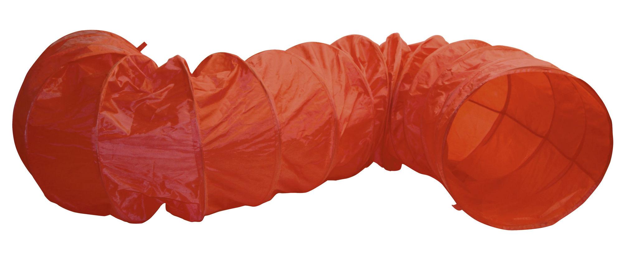 Agility Hundetunnel rot, 5m, 60cm