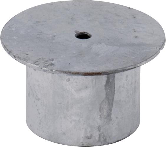 Abdeckung für Einbauhülse d= 76 mm